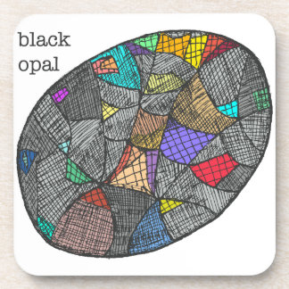 Black Opal Coaster
