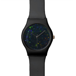 Black Opal Dial Watch