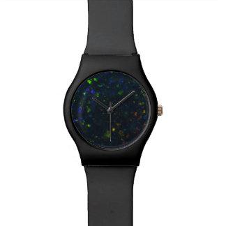 Black Opal Dial Wrist Watch