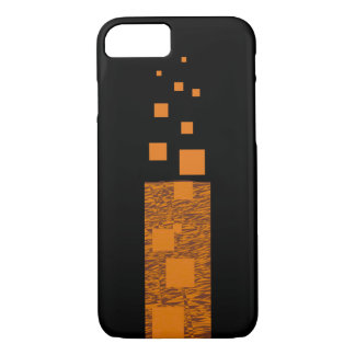 Black orange alert float fire torch mystery wand iPhone 7 case