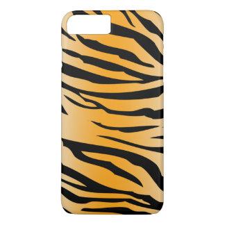 Black Orange Tiger Stripes Case-Mate iPhone Case