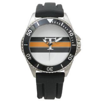 Black & Orange Watch