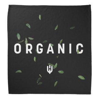Black Organic Bandana