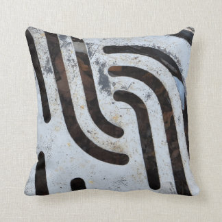 "Black Out 16"" x 16"" Throw Pillow – Urban Vibe"