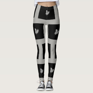 Black Out Fern Leggings