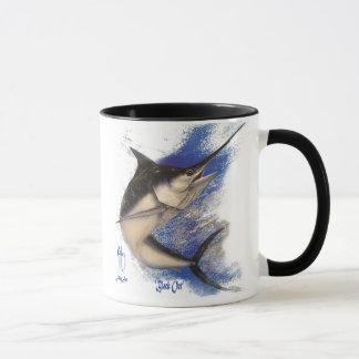 'Black Out' - Marlin Mug