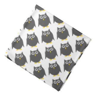Black Owl Bandana