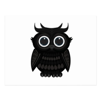 Black Owl Postcard