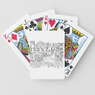 BLACK, Painting Planning, copyright 2016 Stacey Le Poker Deck