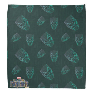 Black Panther | Black Panther Etched Mask Bandana