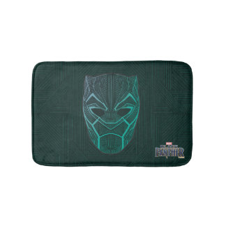 Black Panther | Black Panther Etched Mask Bath Mat