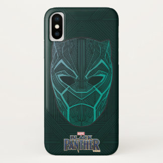 Black Panther | Black Panther Etched Mask Case-Mate iPhone Case