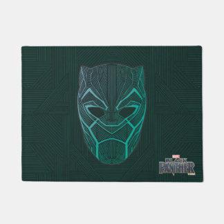 Black Panther | Black Panther Etched Mask Doormat