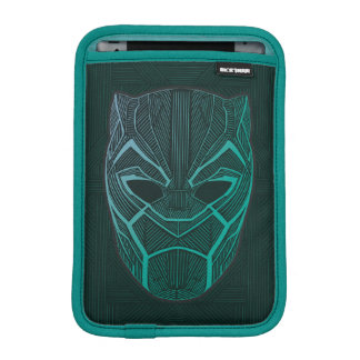 Black Panther | Black Panther Etched Mask iPad Mini Sleeve