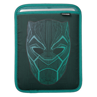 Black Panther | Black Panther Etched Mask iPad Sleeve