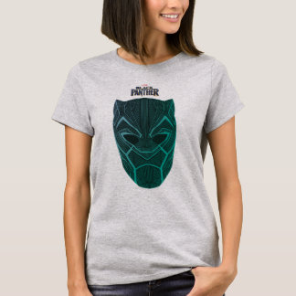 Black Panther | Black Panther Etched Mask T-Shirt
