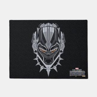 Black Panther | Black Panther Head Emblem Doormat