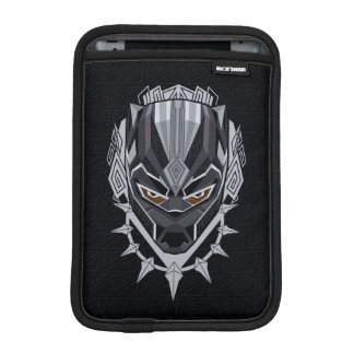 Black Panther | Black Panther Head Emblem iPad Mini Sleeve