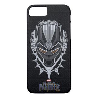 Black Panther | Black Panther Head Emblem iPhone 8/7 Case