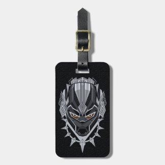 Black Panther | Black Panther Head Emblem Luggage Tag