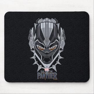Black Panther | Black Panther Head Emblem Mouse Pad