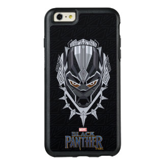 Black Panther | Black Panther Head Emblem OtterBox iPhone 6/6s Plus Case