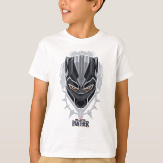 Black Panther | Black Panther Head Emblem T-Shirt