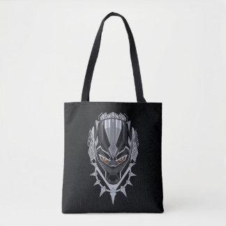 Black Panther   Black Panther Head Emblem Tote Bag