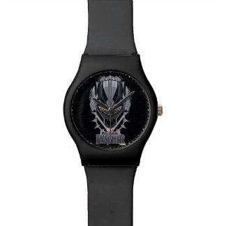 Black Panther | Black Panther Head Emblem Watch