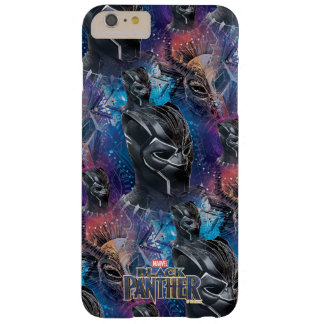 Black Panther | Black Panther & Mask Pattern Barely There iPhone 6 Plus Case