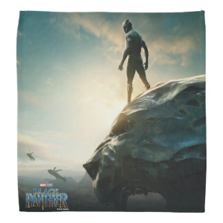 Black Panther | Black Panther Standing Atop Lair Bandana