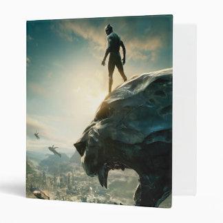 Black Panther | Black Panther Standing Atop Lair Binder