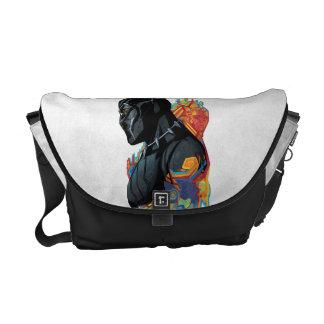Black Panther | Black Panther Tribal Graffiti Commuter Bag