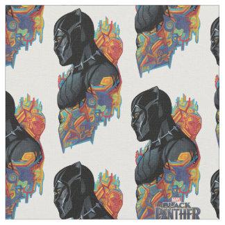 Black Panther | Black Panther Tribal Graffiti Fabric
