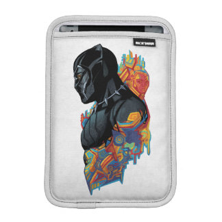 Black Panther | Black Panther Tribal Graffiti iPad Mini Sleeve