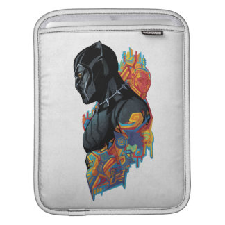 Black Panther | Black Panther Tribal Graffiti iPad Sleeve