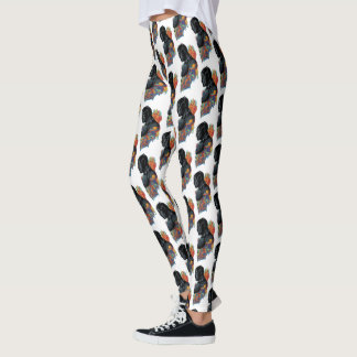 Black Panther | Black Panther Tribal Graffiti Leggings