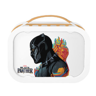 Black Panther   Black Panther Tribal Graffiti Lunch Box