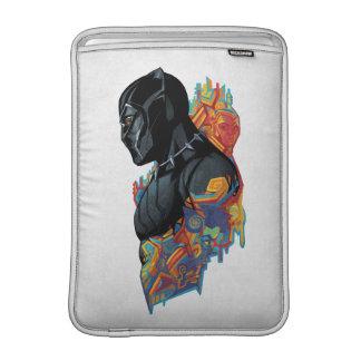 Black Panther | Black Panther Tribal Graffiti Sleeve For MacBook Air