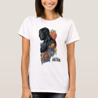 Black Panther | Black Panther Tribal Graffiti T-Shirt