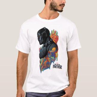 Black Panther | Black Panther Tribal Graffiti T-Shirt