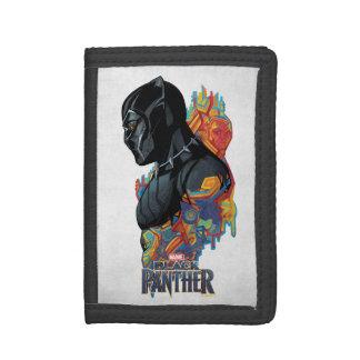 Black Panther | Black Panther Tribal Graffiti Tri-fold Wallets