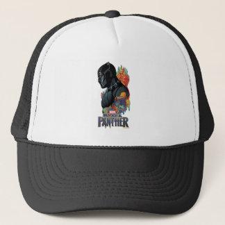 Black Panther   Black Panther Tribal Graffiti Trucker Hat