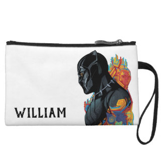 Black Panther | Black Panther Tribal Graffiti Wristlet