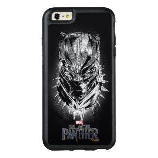 Black Panther | Black & White Head Sketch OtterBox iPhone 6/6s Plus Case
