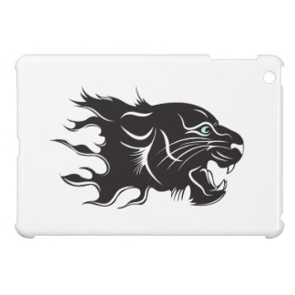 Black Panther Blue Eyes iPad Mini Cases