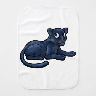 Black Panther Cartoon Character Burp Cloths