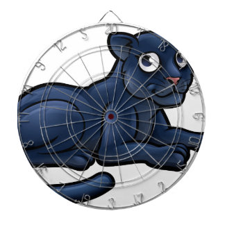 Black Panther Cartoon Character Dartboard