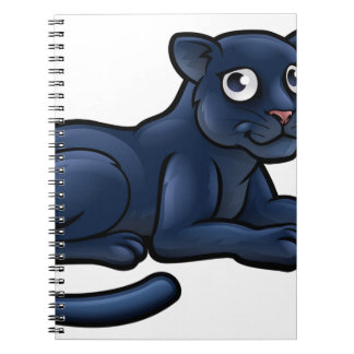 Black Panther Cartoon Character Notebooks