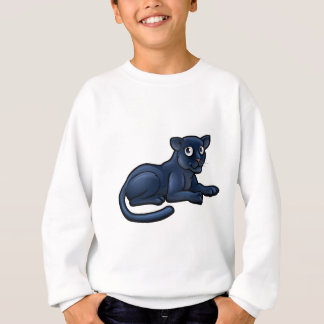 Black Panther Cartoon Character Sweatshirt